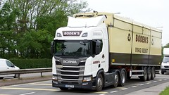 MX18 FSO (Martin's Online Photography) Tags: scania r500 newgenertion truck wagon lorry vehicle freight haulage commercial transport a580 leigh lancashire walking floor