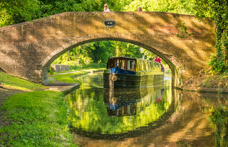The Staffordshire & Worcestershire Canal (At Stourton )