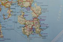 Ein paar Tage auf der Halbinsel Peninsula in Tasmanien (Alfesto) Tags: peninsula australien tasmanien halbinsel capehauy wanderung karte map