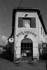 Boulangerie (cedricmarino) Tags: bakery boulangerie aubagne provence tmax100 kodak xtol 13 monochrome canona1