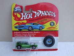 Hot Wheels 25th Anniversary Redline The Demon Metallic Green Mint & Carded (beetle2001cybergreen) Tags: hot wheels 25th anniversary redline the demon metallic green mint carded
