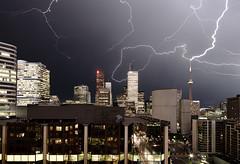 lightning (wvs) Tags: toronto storm night downtown cntower lightning wvs ddoi topf400 p1f1