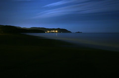 In the Blue of the Night (bokchoyboy) Tags: ocean longexposure blue nightshot gabo pacificapier bokchoyboy mochiland abigfave gsfavs