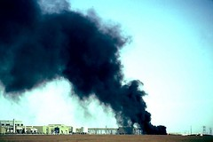 black smoke (The Wilderness Society) Tags: ice alaska earth wildlife arctic polarbear national oil environment bp sprawl spill hybrid caribou pipeline controversy alternative anwr refuge drilling exxon fuels arcticnationalwildliferefuge