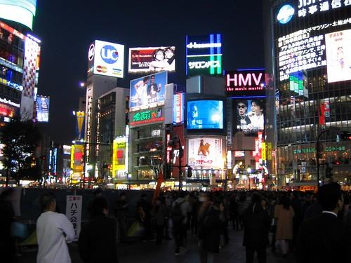 Hachiko Crossing, Shibuya, Tokyo