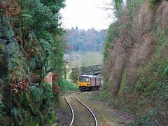 144003 (Thrash Merchant) Tags: railroad train diesel metro rail trains northern railways westyorkshire pacer railtrack dmu metrotrain railbus dieselmultipleunit berrybrow thepenistoneline class144 144003