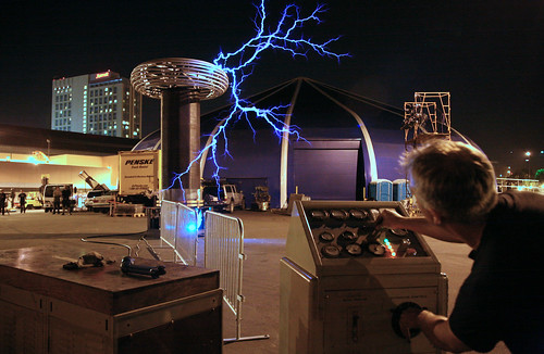 Greg Leyh & Tesla Coil