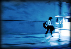 walkin' off the blues (Kelly Angard) Tags: street shadow night canon walking colorado downtown walk blues denver direction change positive kreativekell persevere kellya endure kellyangard efs1755mm kellyafineartphotography digitalrebelxtefs1755mm
