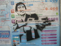 Tony Montanta (Dr Case) Tags: streetart paris stencil scarface spliffgachette