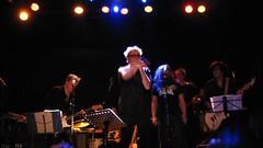 Loser's Lounge: Joe McGinty (Brooklyn Hilary) Tags: nyc newyorkcity music ny newyork manhattan live band thecure tribute boweryballroom thesmiths loserslounge