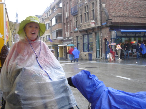 Shower on Marktrock!
