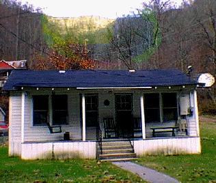 Mary Farley's house photo by Penny Loeb