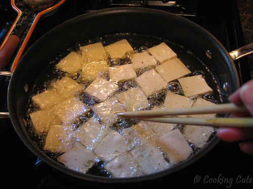 fritura tofu maionese