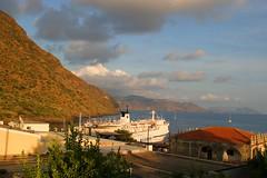 salina, porto di rinella (pippuz78) Tags: sunset sea water tramonto ship view tags nave porto land filippo salina eolie rinella pippuz78 scarpi mcb1029