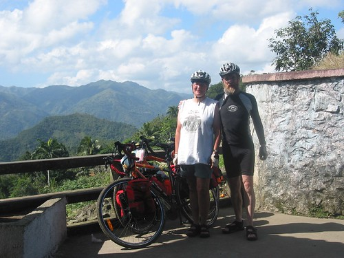 "Cuba has friendly people, quiet roads and you can tour there on a budget. That's what Canadian couple Margo & Chris say, after <a href=""http://travellingtwo.com/resources/10questions/cuba"">cycling 1,800km across Cuba</a> in 2006. In this edition of 10 Questions, they tell about being warmly greeted by locals, the traffic-free roads and challenges such as finding food."