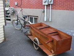 Cykel med släp