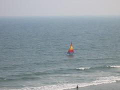 Catamaran, North Myrtle Beach (bh23) Tags: ocean trip travel blue sun beach water coast boat waves south north catamaran carolina myrtle northmyrtlebeach