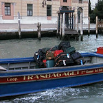 Luggage transport in Venice