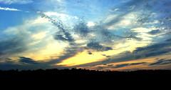 Dramatic sky (audiostein) Tags: sky norway clouds w800 cellphone eik twilightzone audiostein
