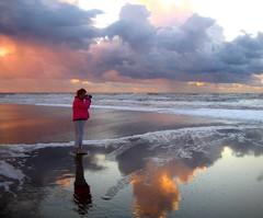 Sunset Scheveningen (Truus) Tags: sunset by searchthebest scheveningen made bennie truus abigfave