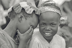 Ethiopian Portraits (foto_morgana) Tags: bw portraits children tribes ethiopia dimma minorities nuer gambellazone