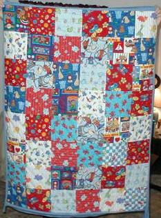 First Quilt Ever