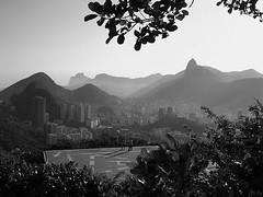 Po de Acar  - Rio de Janeiro - Brasil - Brazil - B&W (  Claudio Lara ) Tags: city light brazil sky urban luz rio brasil riodejaneiro top20bw rj janeiro cidademaravilhosa bresil brasilien corcovado explore podeacar 1000 brasile leme brsil pedradagvea 555v5f 444v4f 111v1f claudiolara 123bw    pb41 claudioo clcrio clcbr