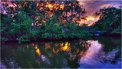 (Bravo_Kilo) Tags: leica sunset water florida hdr newsmyrnabeach intercoastalwaterway halifaxriver indianriverlagoon clux1 leiceclux1 l1000214 l1000215 l100216