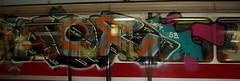 Subway graffiti - by Bertg