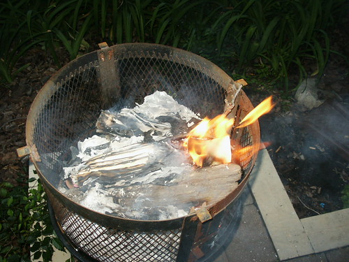 Burning sophomore year by Kevin Walter, on Flickr