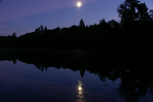 Moon Over The Lake (by Jheat)