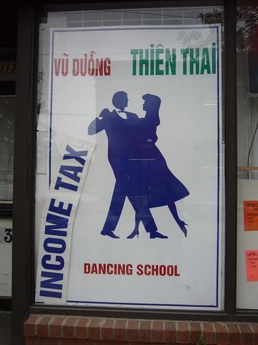 Income Tax Dancing School