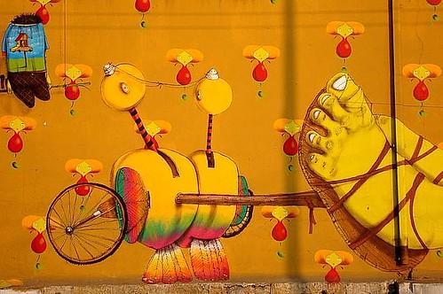 фото, граффити