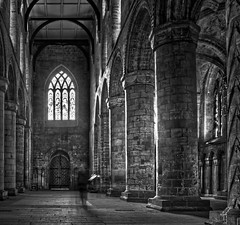 Dunfermline Abbey (dhansak79) Tags: bw abbey 350d scotland fife ghost 500v50f hdr dunfermline 1740l 3xp interestingness18 scoopt 83points i500 fdrtools fdrcompressor hdrextremes