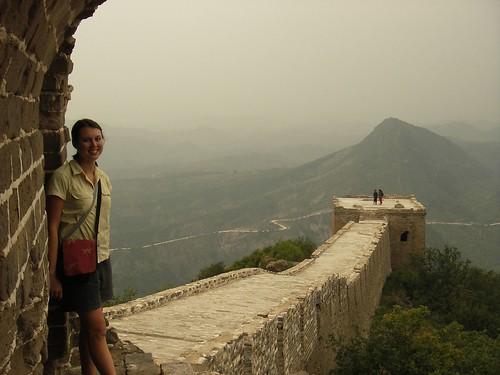 Sachi at the Great Wall of China, Simatai by you.