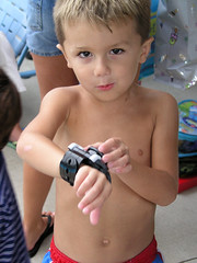 This Is How It Works... (SpringChick) Tags: birthday family party pool austin grandchildren 4yrs