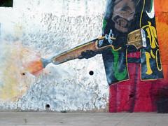 ya estn aqu... (sego) Tags: party muro wall graffiti fiesta alicante moros ibi critianos
