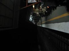 Train station in Wakaf Bahru early in the morning (Vueltaa) Tags: station train malaysia bahru wakaf
