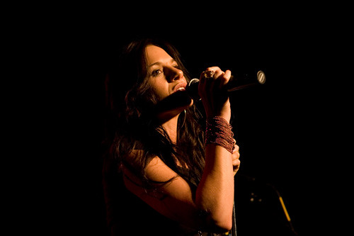 Kara DioGuardi performs at Greenpeace 35th birthday party