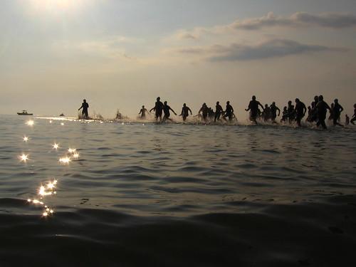 Triathlon, Sterling State Park, Monroe, MI
