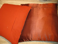 Elephant & Orange Pillows