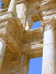 Library, Ephesus - by dachalan
