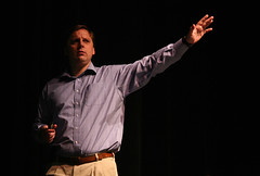 Michael Arrington During a Conference