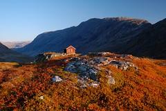 Lonely hut in the mountains (_Marcel_) Tags: mountains norway skandinavien htte norwegen berge hut scandinavia fjell geiranger hytter diashowgeirangerfjell