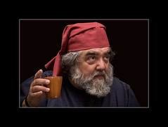 A su salud!! (www.jordiarmengol.net (Xip)) Tags: portrait espaa retrato xip catalonia medieval catalunya catalua ecd theface feriamedieval santcugatdelvalls tokina80200mm28 retratojam