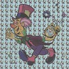 mad hatter lsd blotter cartela (strikerr) Tags: lsd mad hatter blotter
