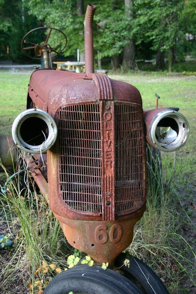 Old Oliver Model 60 Tractor