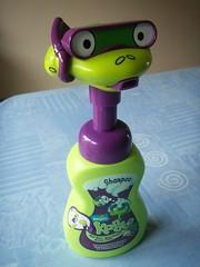 Check Out My Snorkeling Gear! (Purrrpl_Haze) Tags: shower snorkel frog shampoo impulsebuying pampers kandoo snorkelingfrog magicmelon magicmelonscent shampoodispenser kiddieshampoo