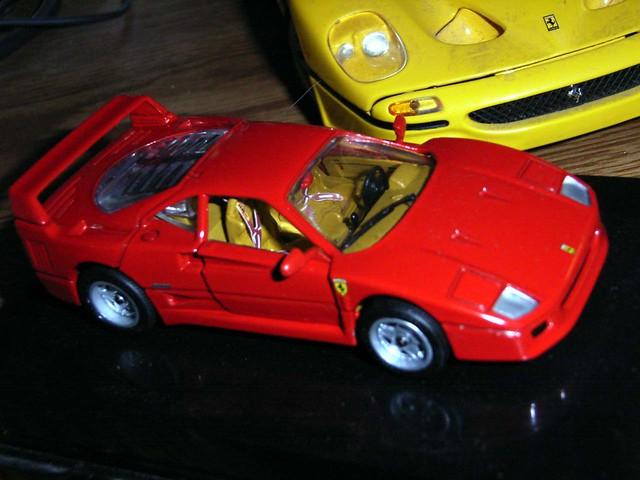 143 scale Hot Wheels Ferrari F40 by Steve Brandon