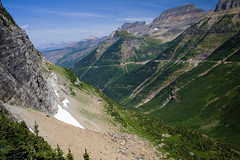 The Garden Wall (Robby Edwards) Tags: vacation mountains nationalpark montana glacier valley glaciernationalpark gardenwall loganpass goingtothesunroad specland